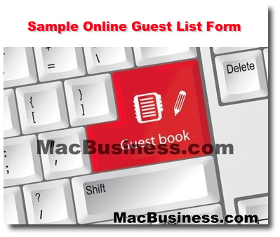 sample website online guest list form mac business consulting hawaii